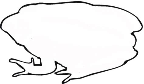 big frog coloring page big frog outline coloring page super coloring clipart
