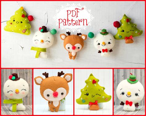 12 fun holiday patterns to make garlands snowman and pdf