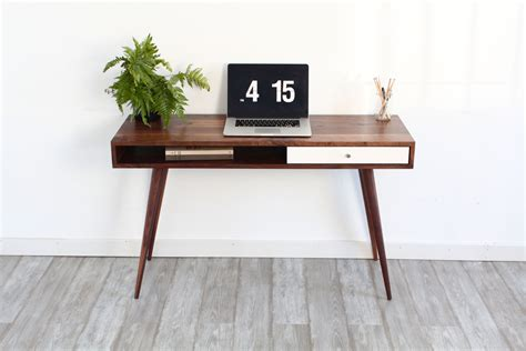 Modern Laptop Desk Mid Century Modern Sofa Table Console Table Laptop Desk