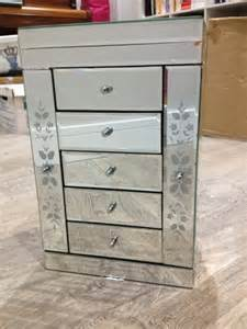 mirrored jewellery box with 5 drawers for sale in salthill