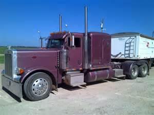 2006 peterbilt flat top conventional sleeper semi truck