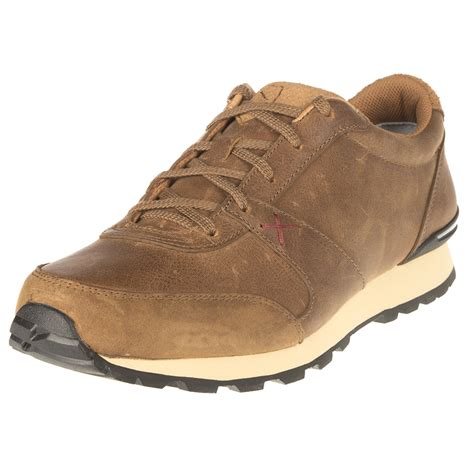 shop s twisted x western leather athletic shoes