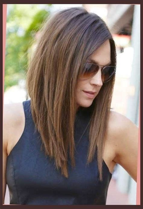 graduated bobs for long fat face thick hairgirls best 25 long angled haircut ideas on pinterest