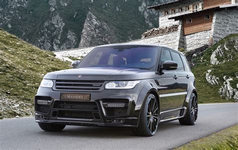 land rover sport mansory gives range rover sport carbon fibre