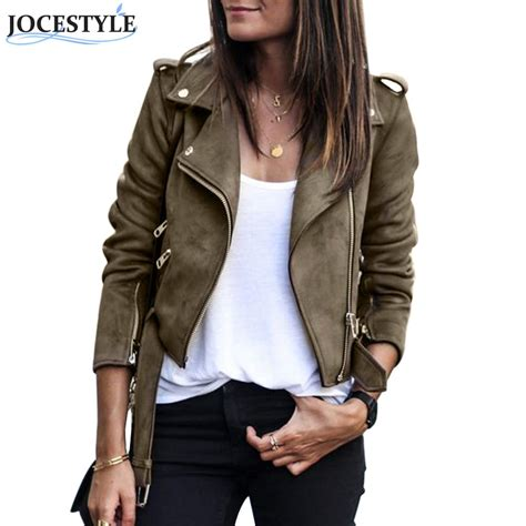 Luxe Leather Jacket For New Year And Beyond by Aliexpress Buy Slim Jacket Sleeve