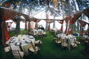 outside wedding reception ideas pictures rainingblossoms wedding receptions tents decoration