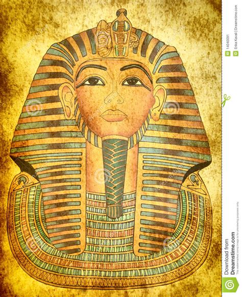 King Tut Essay by King Tutankhamen Papyrus Mask Stock Image Image 14040091