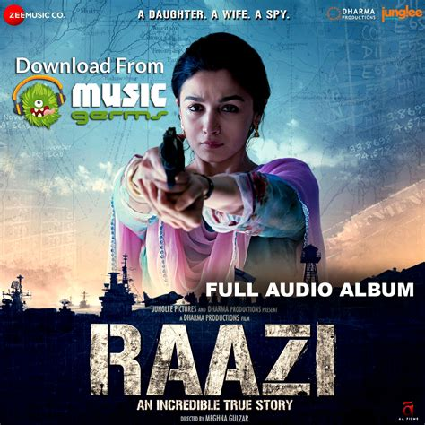 download mp3 full album original raazi full album listen download mp3 audio song