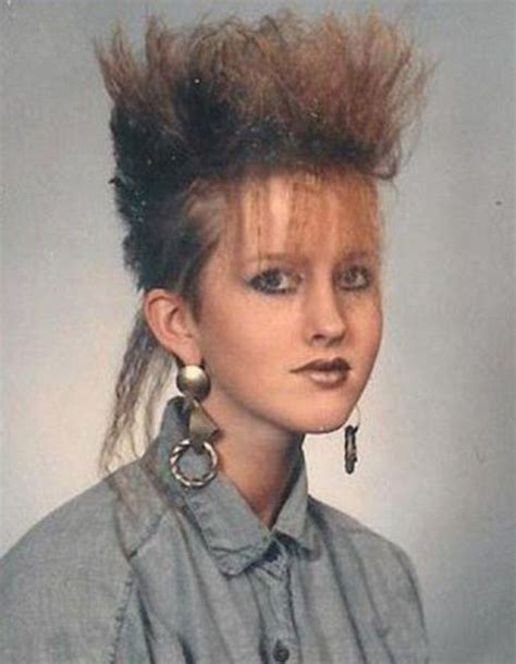 bad hair styles of the 70s totally awkward yearbook portraits from the 80s 13 pics