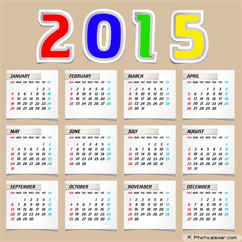 Image Calendar Printable 2015 Calendar Pictures Images