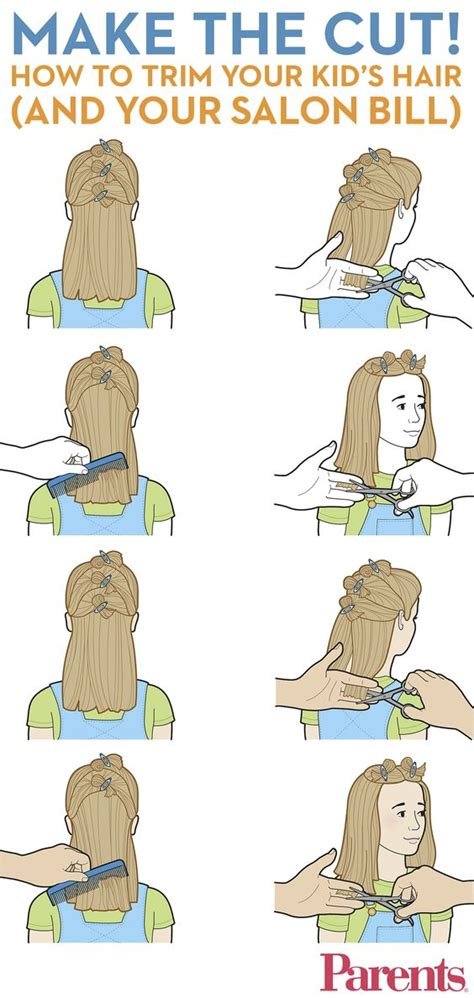 step by step hair cutting instructions how to cut your kid s hair boys and girls children and