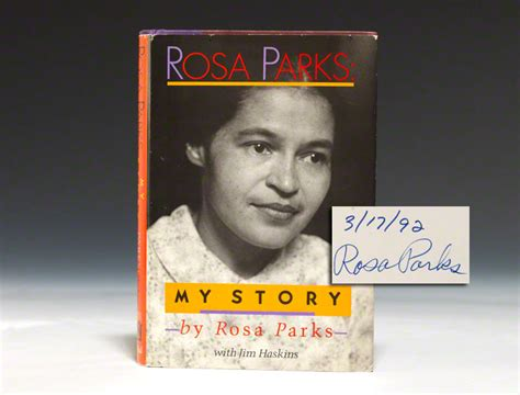 biography book about rosa parks my story first edition signed rosa parks bauman