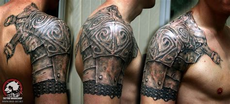shoulder armor tattoo armor mad gallery armor