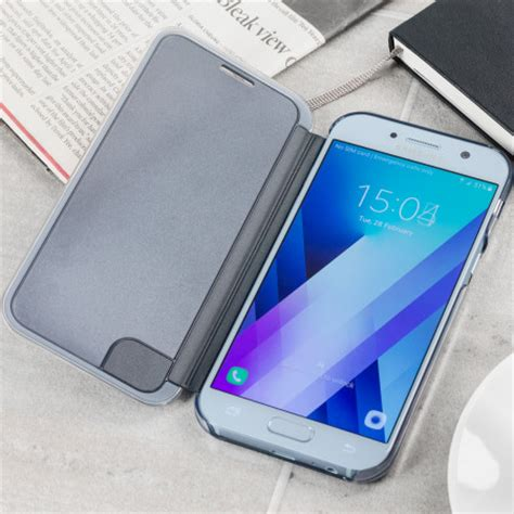 Clear View Cover Samsung A5 2017 official samsung galaxy a5 2017 clear view cover black