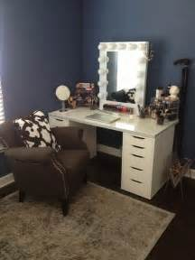 Ikea Vanity Makeup Mirror 17 Best Images About Makeup Room Vanity Ideas On