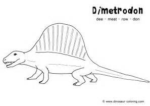 dimetrodon coloring
