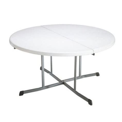 walmart lifetime folding table lifetime 60 in fold in half folding table walmart