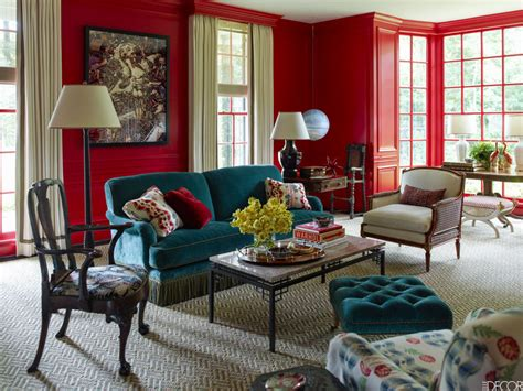 interior design red walls energizing colors to decorate with this sizzling summer