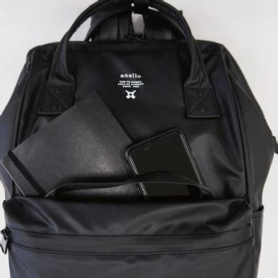 Tas Anello Backpack Small anello tas ransel waterproof backpack 2 way black jakartanotebook