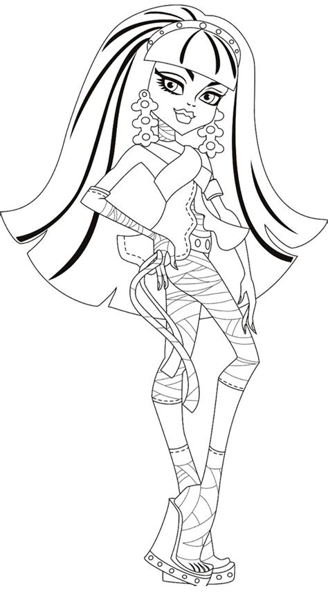 little monster high coloring pages 1000 images about color pages on pinterest monster high