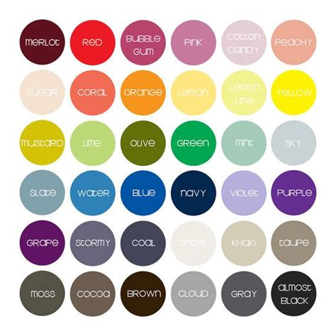 color names baby 38 best images about name that color on