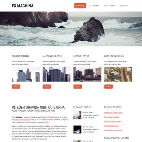 Site Templates Page 2 Of 44 Templated Site Template