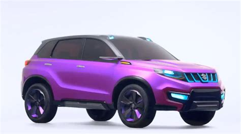 suzuki iv4 violet color indian autos