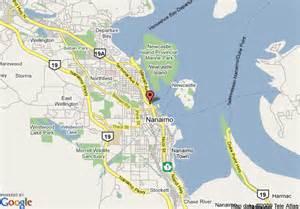 map of nanaimo vancouver island travelodge nanaimo