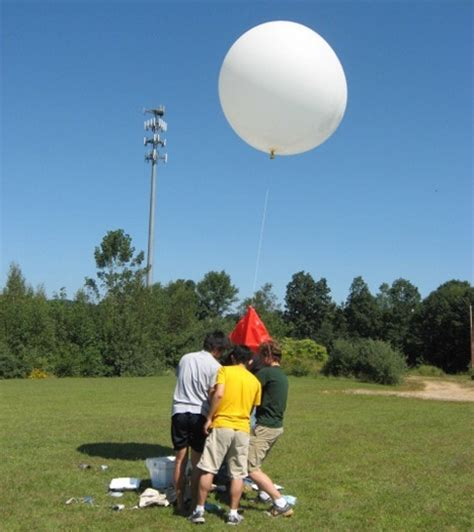 weather balloons favors ideas