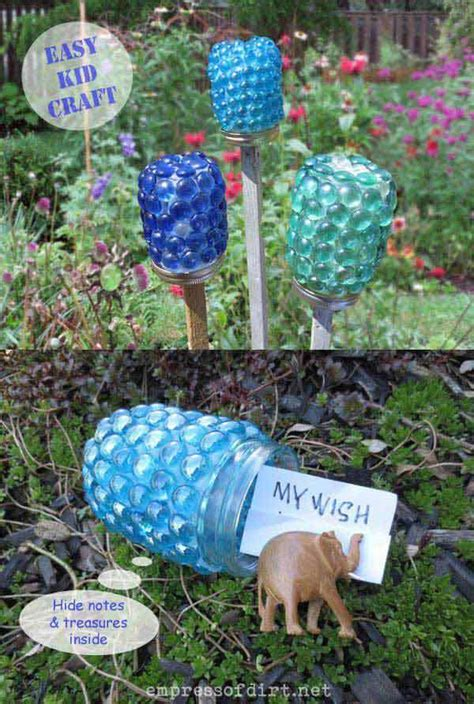diy craft projects for the yard and garden 34 easy and cheap diy projects to beautify your