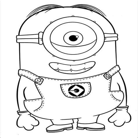 imagenes para dibujar de los minions dibujos para colorear de los minions para imprimir