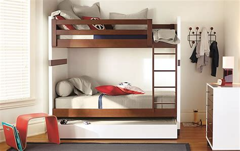 Room And Board Bunk Bed Moda Bunk Bed In Mocha Modern Furniture Room Board