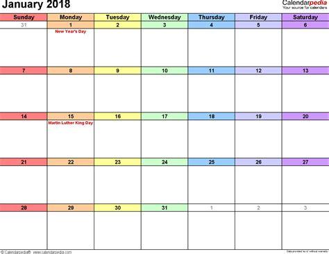 62 best printable 2018 images on pinterest calendar 2018 free