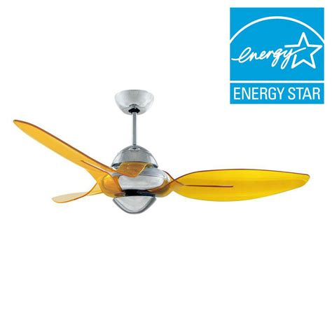 Vento Clover 54 In Indoor Chrome Ceiling Fan With 3 Vento Ceiling Fans
