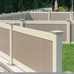 vinyl fence colors two color illusions pvc vinyl fence idea illusions vinyl