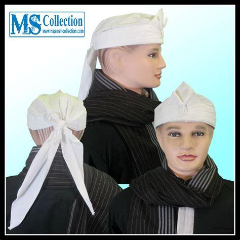 Iket Sunda Praktis Mahkota Wangsa Ms0227k jual iket sunda praktis bendo putih polos mahkota wangsa parahyangan ms0302a harga murah