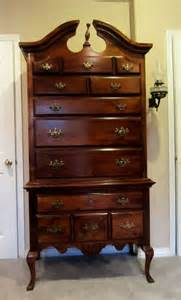cherry highboy dresser 7 drawer for the
