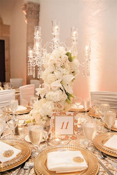 gold and white centerpieces 333 best gold and ivory weddings images on