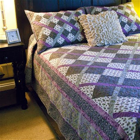 Easy King Size Quilt Patterns by Inspired By Fabric Argyle The Modern Plaid