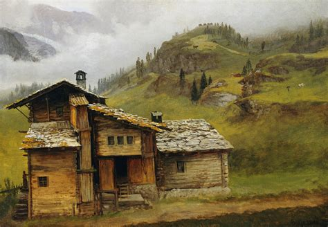 house paintings file albert bierstadt mountain house jpg wikimedia commons