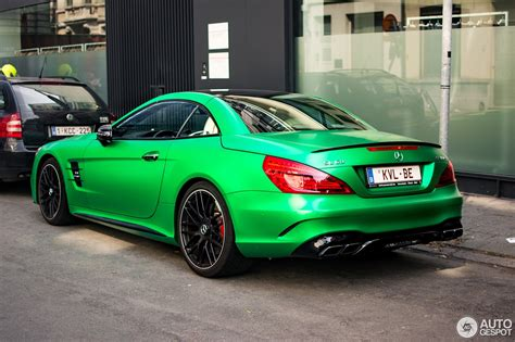 green mercedes amg green hell magno mercedes amg sl63 is a devil s