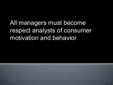 Consumer Motivation Mba by 7 Consumer Behaviour And Branding