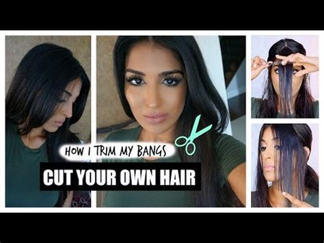 how to cut your own hair 5 hot tips diy hot oil treatment how to make your hair grow fast