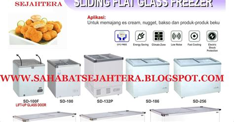 Sliding Flat Glass Freezer Gea Sd186 1 sahabatsejahtera sliding flat glass freezer gea