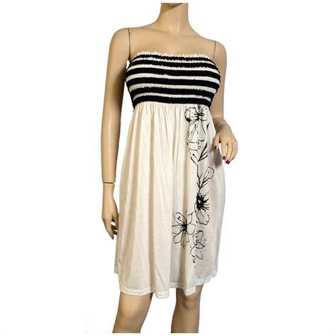 Dress Babydoll Atasan Anak Size L 1 smocked white babydoll plus size mini dress evogues apparel