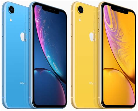 iphone xr features 6 1 inch display and six color options tmonews