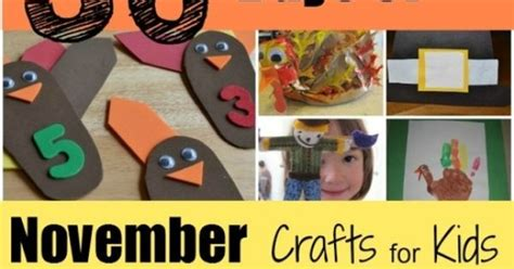 november kid crafts 30 days of november crafts for arts and crafts