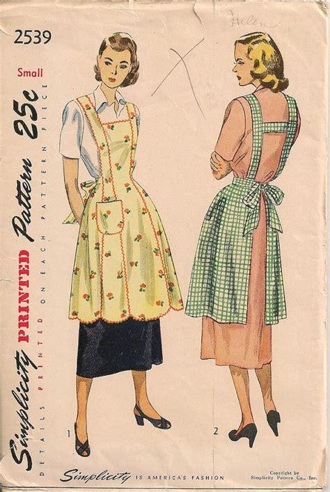 sewing vintage apron 15 best 1950 apron images on pinterest apron patterns