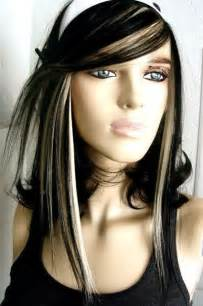 platum hair on black 14 wonderful brunette hairstyles with blonde highlights