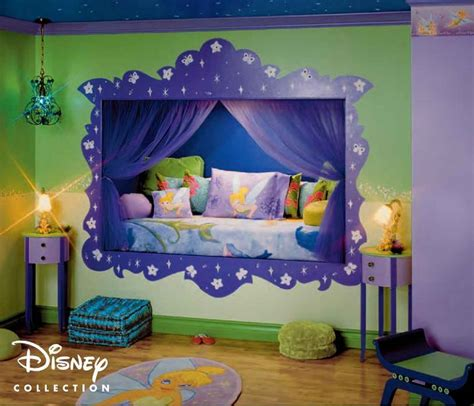 decor ideas disney rooms tinkerbell bedroom about home decor